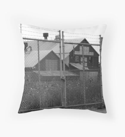 Weeds Locked In Throw Pillow