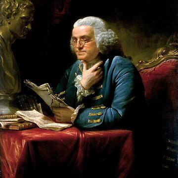 Benjamin Franklin 1767 oil on canvas by David Martin (1) by DeplorableLib