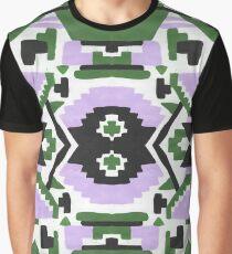 Southwest Forest Aztec pattern Graphic T-Shirt