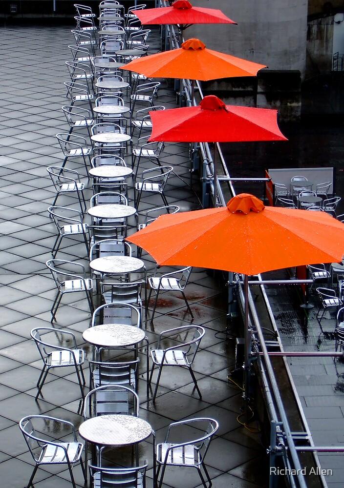Orange Umbrella's by Lea Valley Photographic