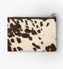Brown Cowhide 2 Studio Pouch