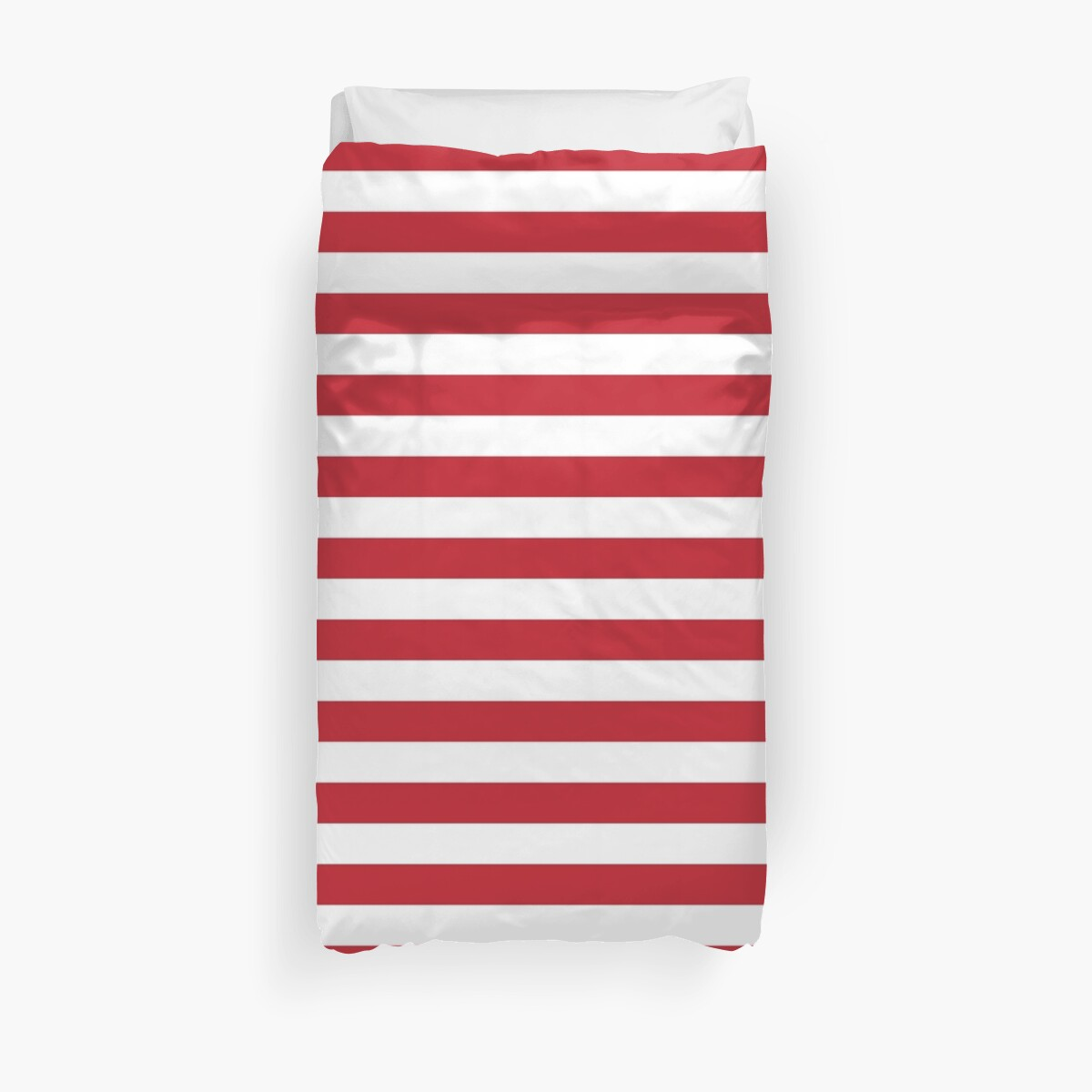 Funda Nordica One Piece.Red And White Stripes Duvet Cover By Eclecticatheart