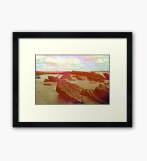 Donegal Beach Framed Print