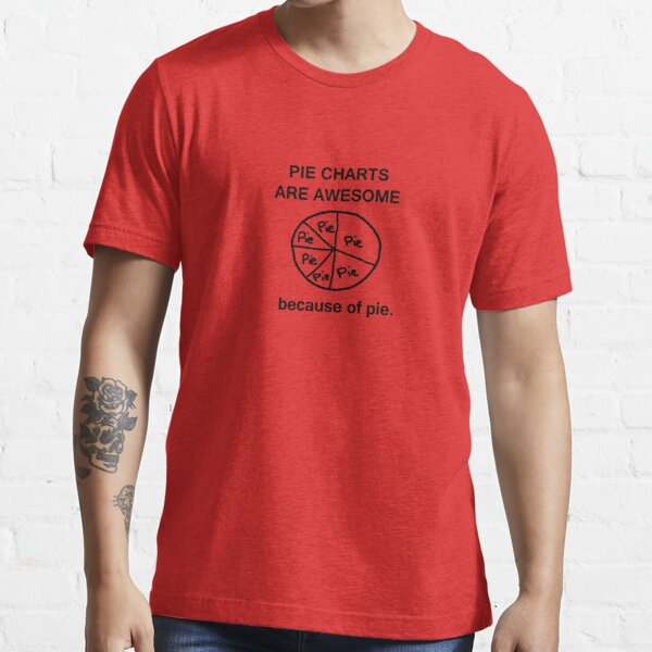 Pie Charts are Awesome - Because of Pie Essential T-Shirt