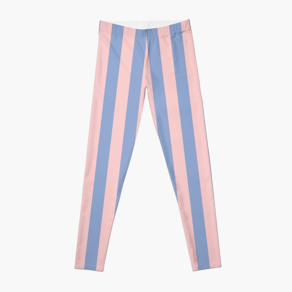 Rose Quartz and Serenity Stripes | Pantone Colors of the Year 2016 | Stripe Patterns | Striped Patterns | Pantone | Color Trends | Fashion Colors | Leggings