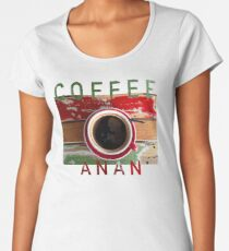 Coffee Anan Women's Premium T-Shirt