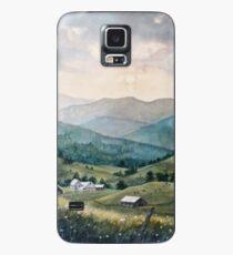 Mountain Valley Farm Case/Skin for Samsung Galaxy
