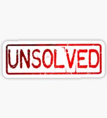 Buzzfeed Unsolved Logo Sticker