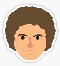Sixth Doctor head Sticker