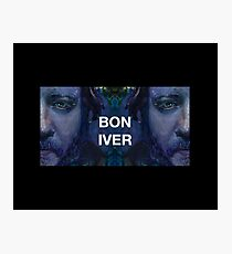Bon Iver - Justin Vernon Photographic Print