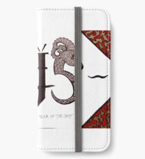 Year of the Goat iPhone Wallet/Case/Skin