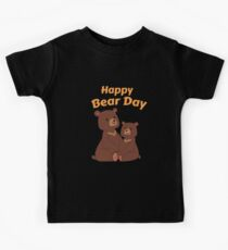 Happy Bear Day Kids Clothes