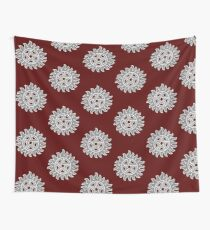 Anti-Possession Symbol - On Red Wall Tapestry
