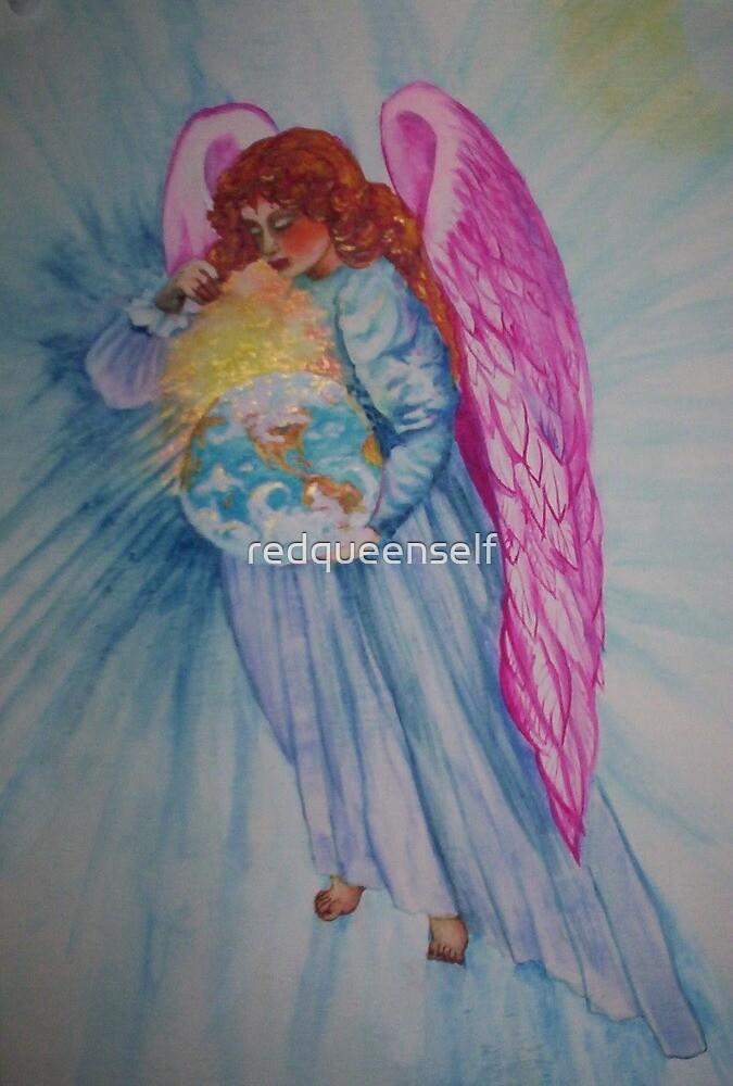 earth angel by redqueenself