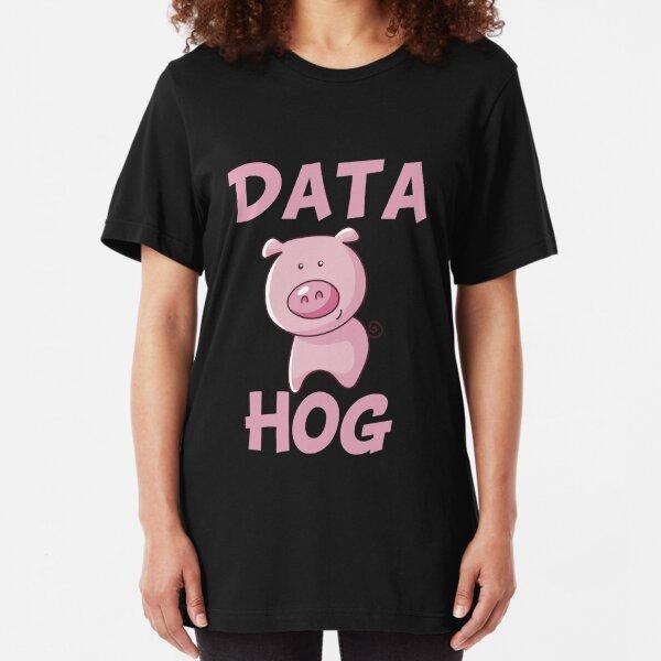 Data Hog Slim Fit T-Shirt
