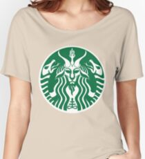 Red Cup Baphomet Women's Relaxed Fit T-Shirt