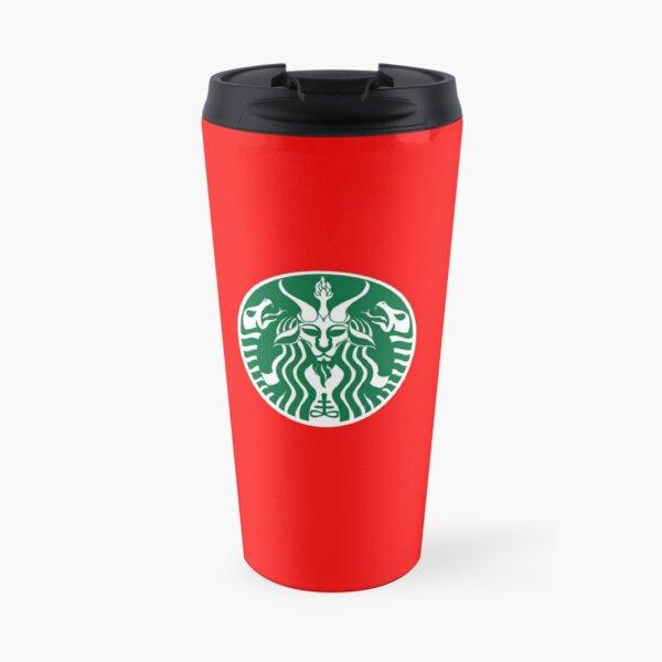 Red Cup Baphomet Travel Mug