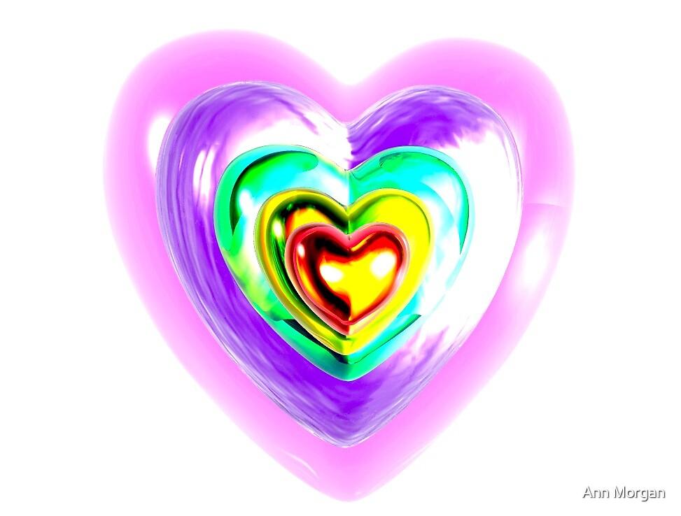Heart Of Glass by Ann Morgan