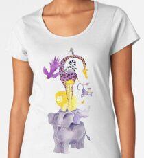 Amazing balancing acrobatic animals Women's Premium T-Shirt