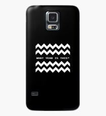 Twin Peaks: What year is this? Case/Skin for Samsung Galaxy