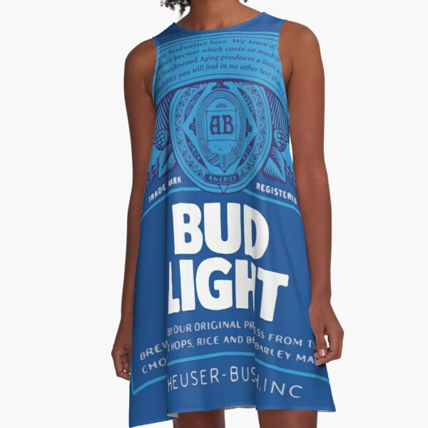 Bud Light A-Linien Kleid