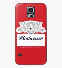 Budweiser Hülle & Klebefolie für Samsung Galaxy