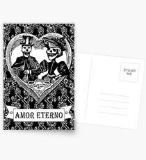 Amor Eterno | Eternal Love | Black and White Postcards