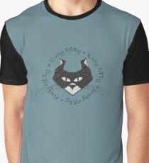 KINKY KITTY - Kinky Face Graphic T-Shirt
