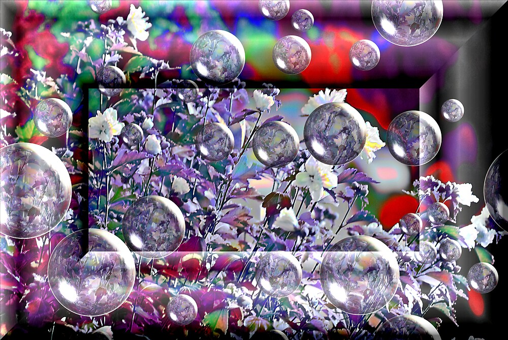 Bubble Wine by Pat Moore