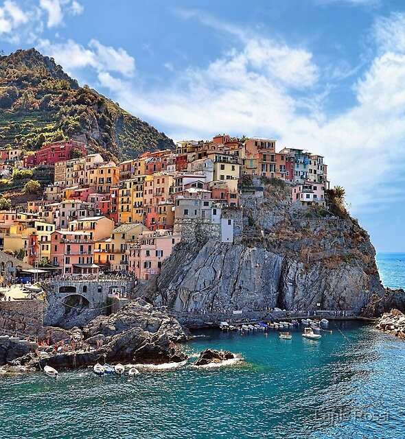 Colorful Italy  by Lanis Rossi
