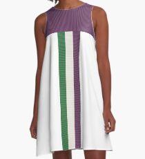 Tribute to Emily Wilding Davison A-Line Dress