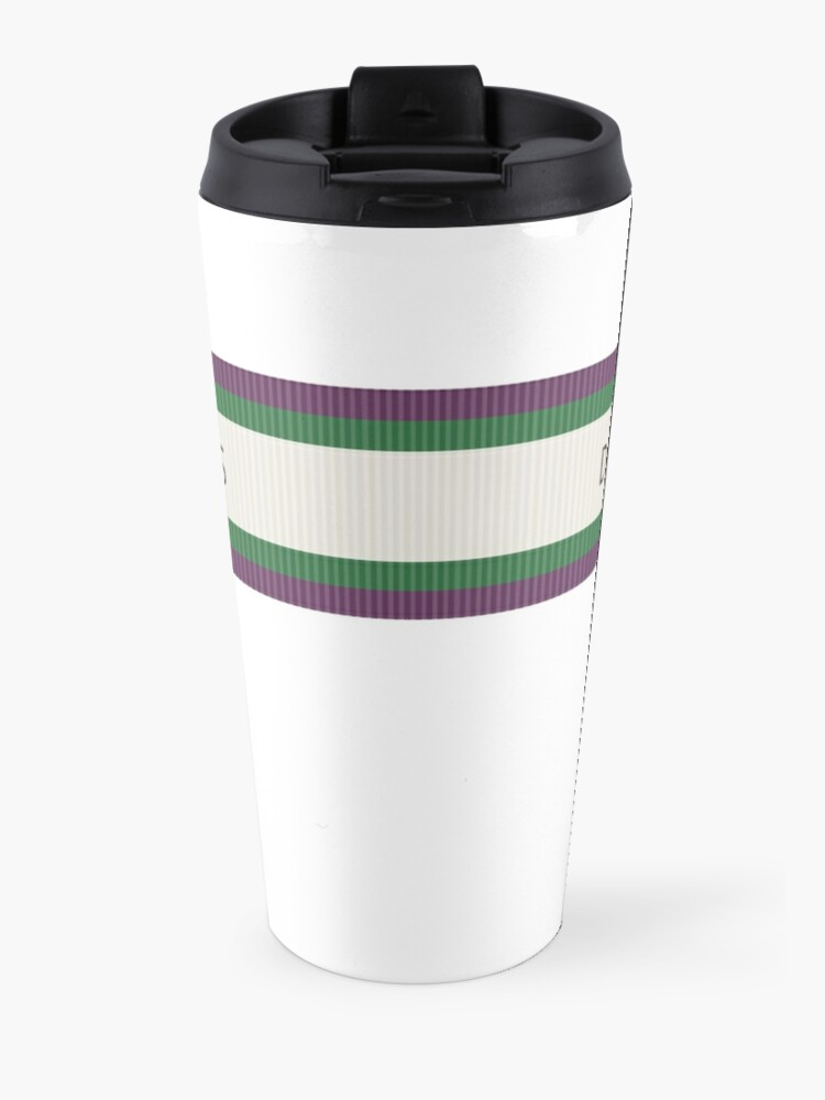 Alternate view of Tribute to Emily Wilding Davison Travel Mug