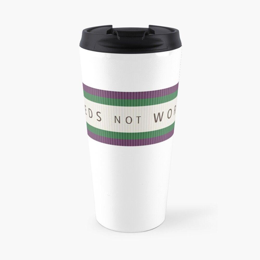 Tribute to Emily Wilding Davison Travel Mug