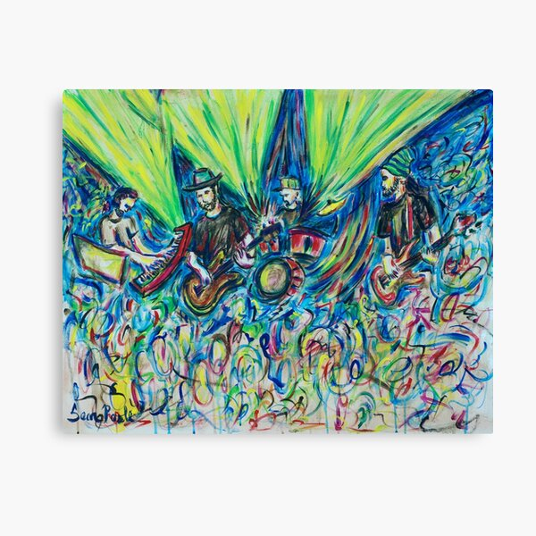 """""""Chameleonized Twiddle"""" Twiddle at The Chameleon Club 2017 Canvas Print"""