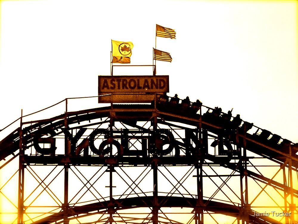 Astroland Cyclone by Jamie Tucker