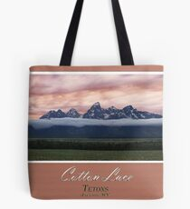 Cotton Lace 12x24 Tote Bag