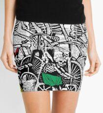 Calavera Cyclists Mini Skirt