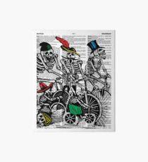 Calavera Cyclists Art Board