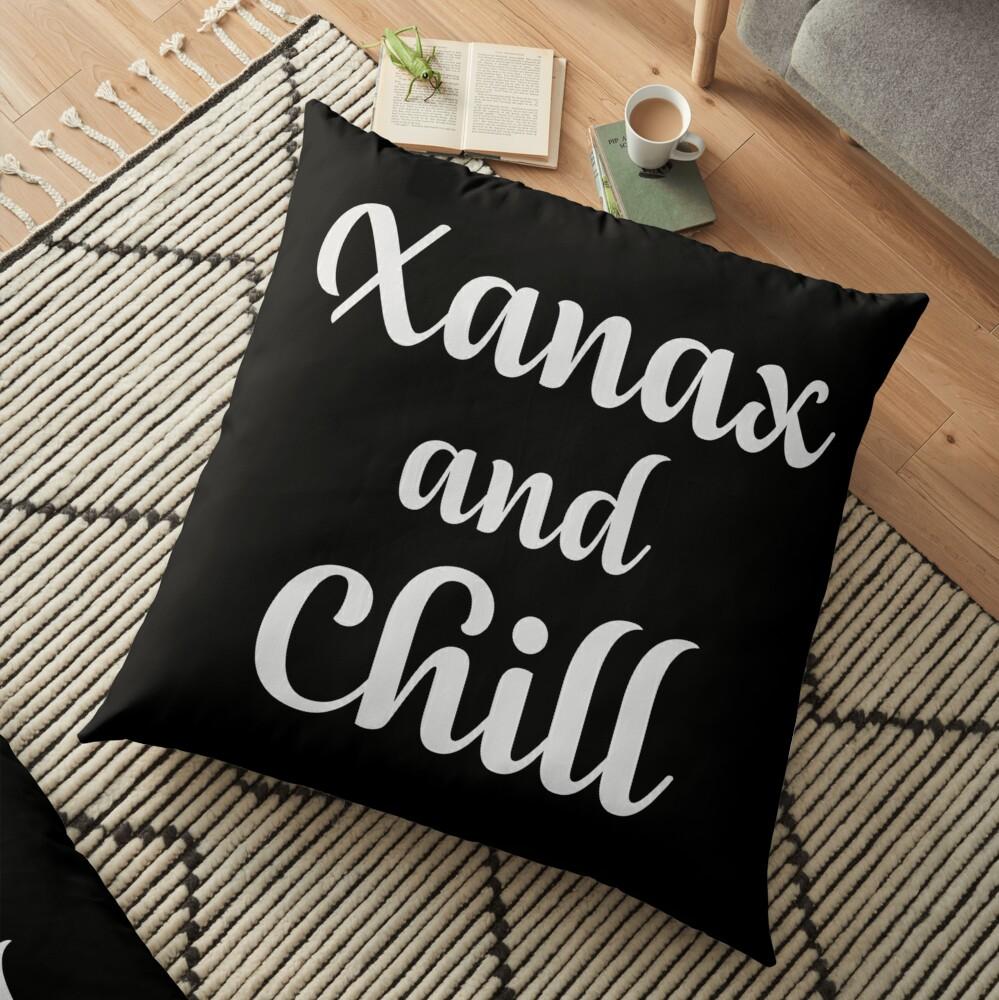 Xanax y Chill Cojines de suelo