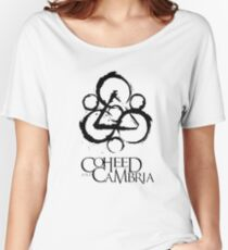 Coheed and Cambria Band Logo Women's Relaxed Fit T-Shirt