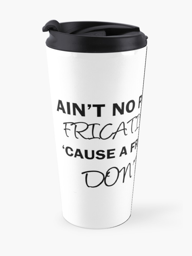 Alternate view of A Fricative Party Don't Stop | Linguistics Travel Mug