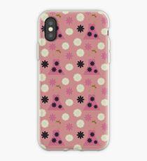 mauve dress iPhone Case