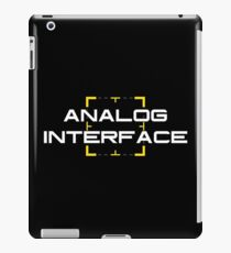 Person of Interest - Analog Interface V2 iPad Case/Skin