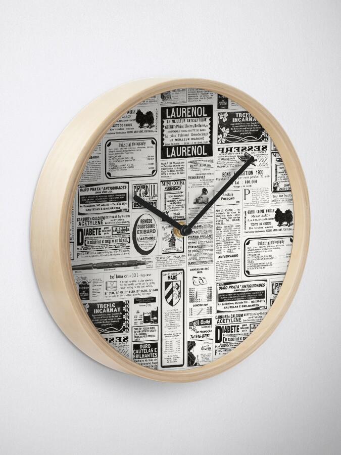 Alternative Ansicht von Alte Zeitung Uhr