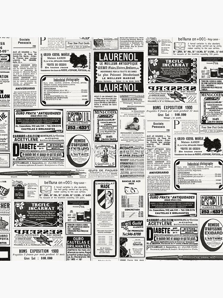 Alte Zeitung von lilvintagestore