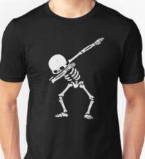 Dabbing Skeleton Shirt - Funny Halloween Dab Skull T-Shirt