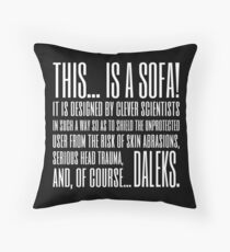 Coupling Quote Pillow 1 Dark Throw Pillow