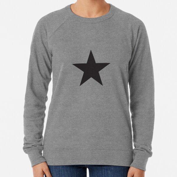 black star Lightweight Sweatshirt