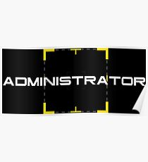Person of Interest - Administrator Poster