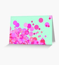 Pinky Bubbles Greeting Card